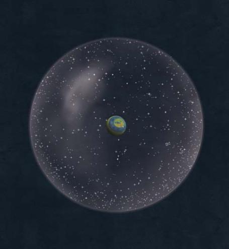 Pour ne nombreux philosophes grecs, le Cosmos est organisé selon des rapports mathématiques comme dans le monde de Platon dans le Timée. © Guillaume Duprat.