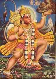 le dieu singe Hanuman